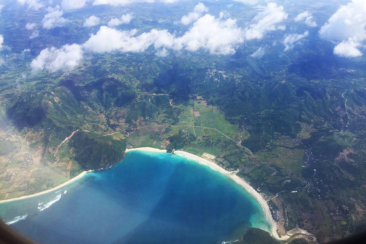 van bali naar lombok met het vliegtuig