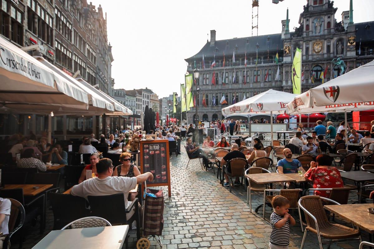 De Grote Markt in Antwerpen