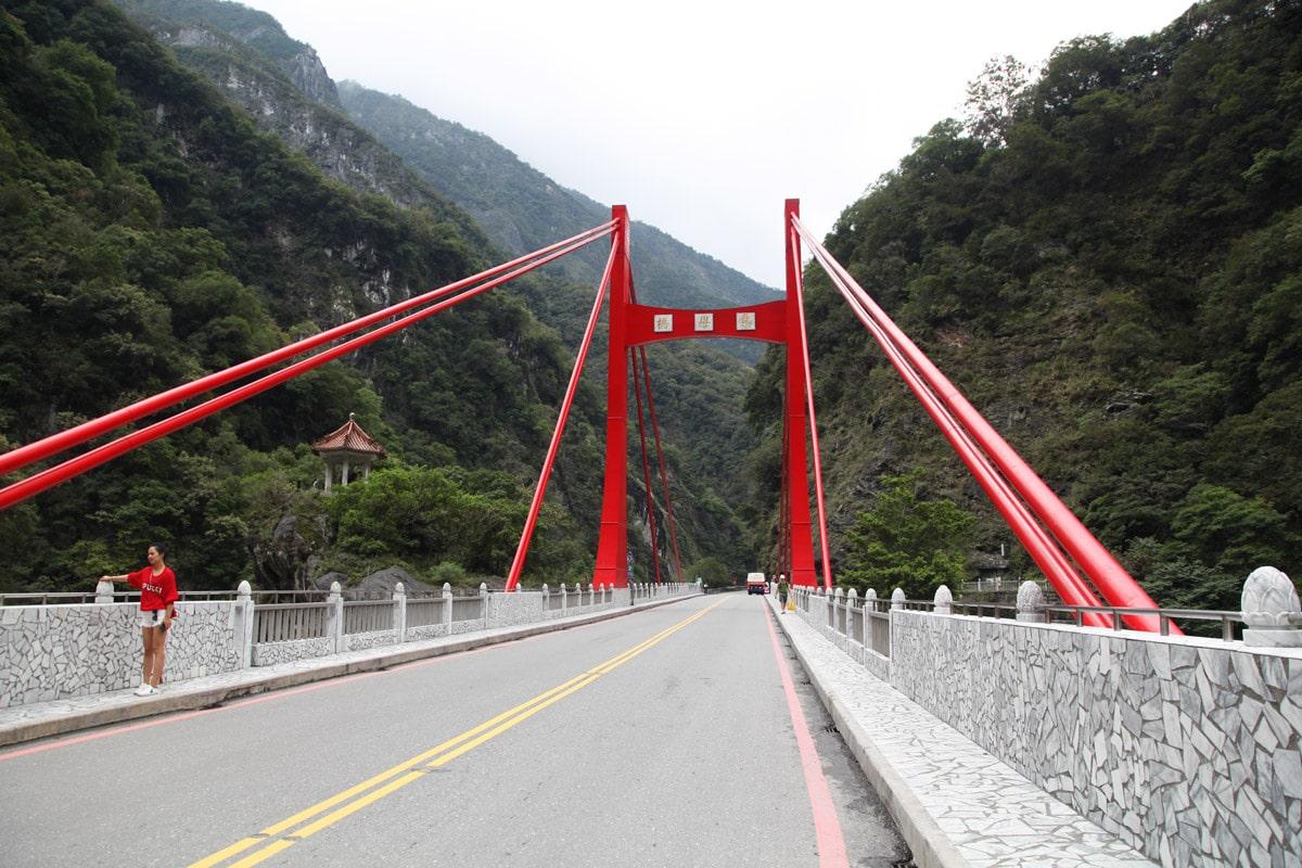 Taroko kloof bezienswaardigheden Taiwan