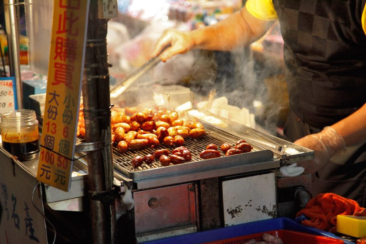 food market taipei taiwan