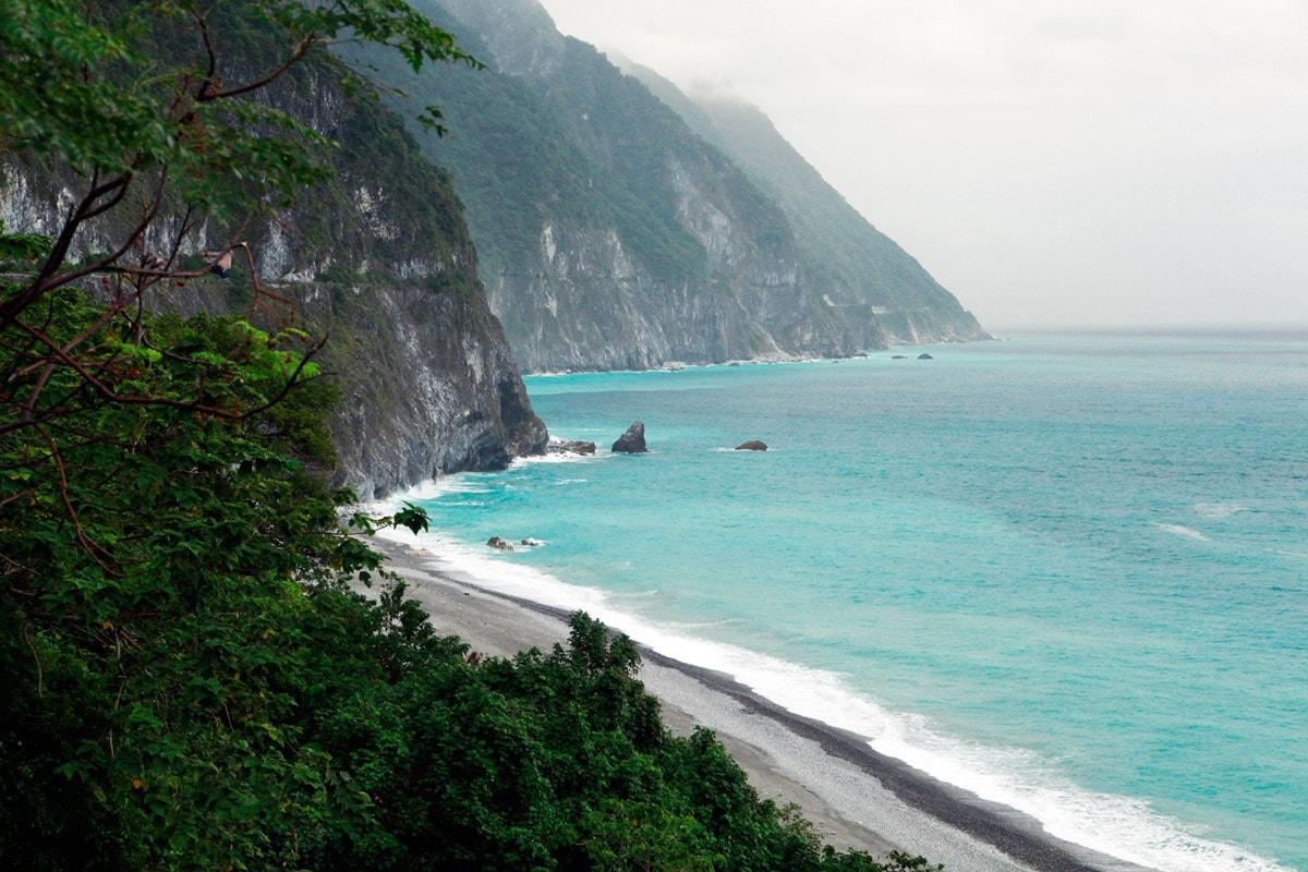 Qinshui cliff Taiwan