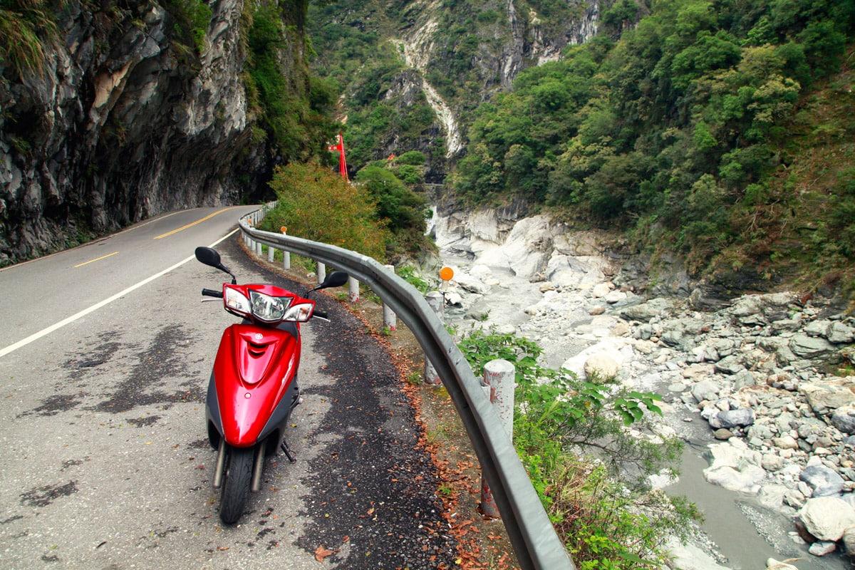 Taroko Gorge National Park scooter huren