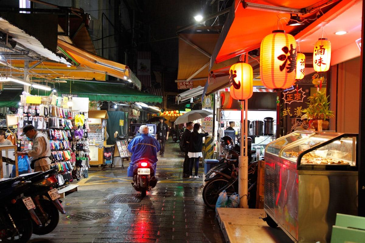 leukste markten van taipei
