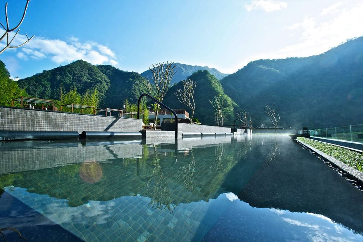 Silks Place hotel Taroko Gorge kloof