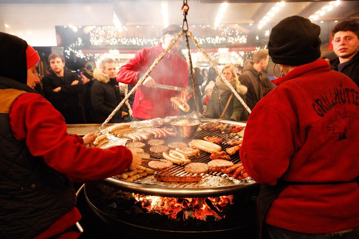 eten en drinken kerstmarkt Gent