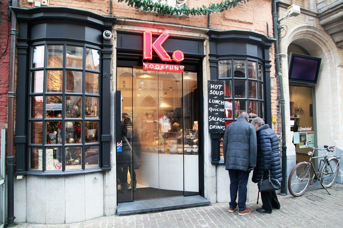 Kookpunt eten en drinken Gent