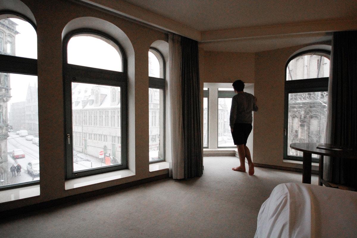 Torenkamer NH Belfort hotel Gent