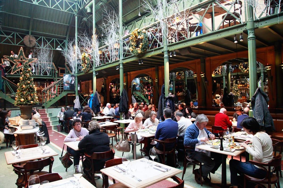 Pakhuis restaurant kerst Gent