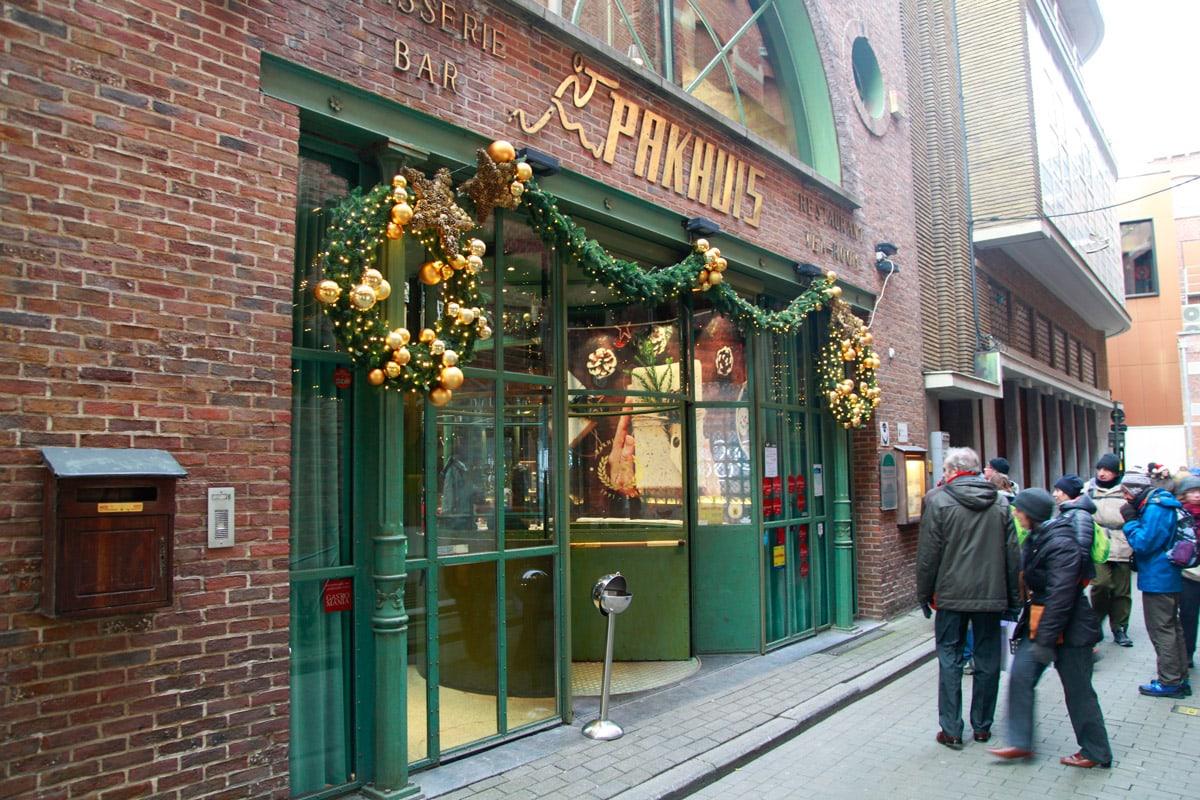 Pakhuis restaurant Gent