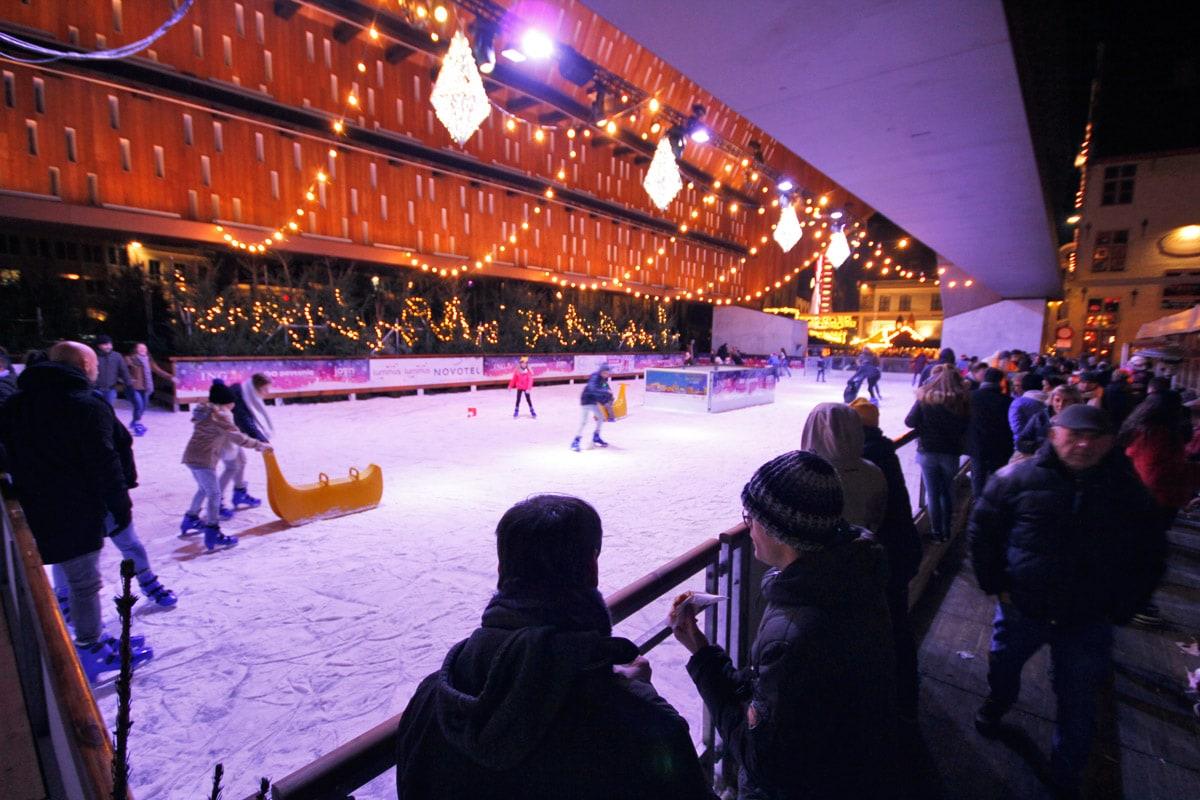 Schaatsbaan Gentse Winterfeesten Gent