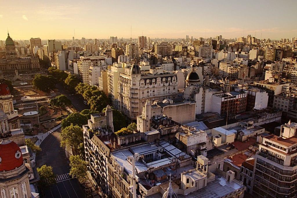 WIDM Argentinie bestemmingen