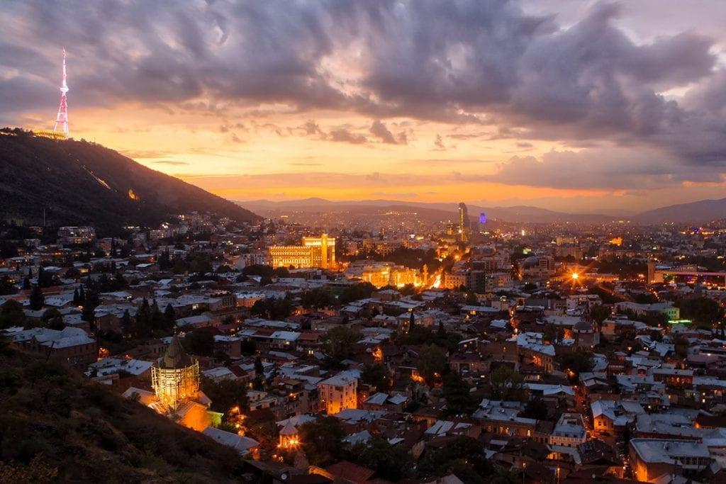 Wie is de mol bestemmingen Oost Europa Georgie Tbilisi
