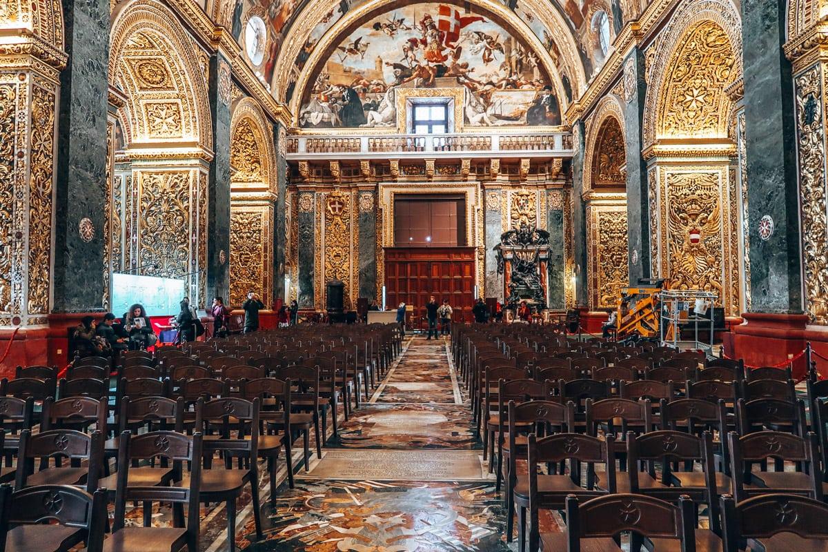 bezienswaardigheden valletta malta sint johns co cathedral