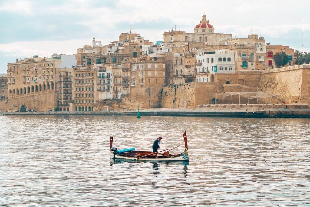 boottocht excursie valletta malta