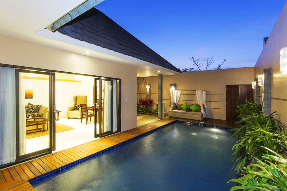 resort villa prive zwembad bali