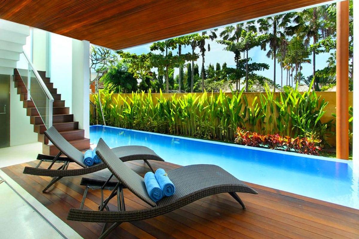 luxe en goedkope villa canggu bali