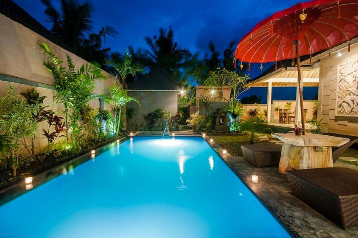 villa met eigen zwembad in ubud bali