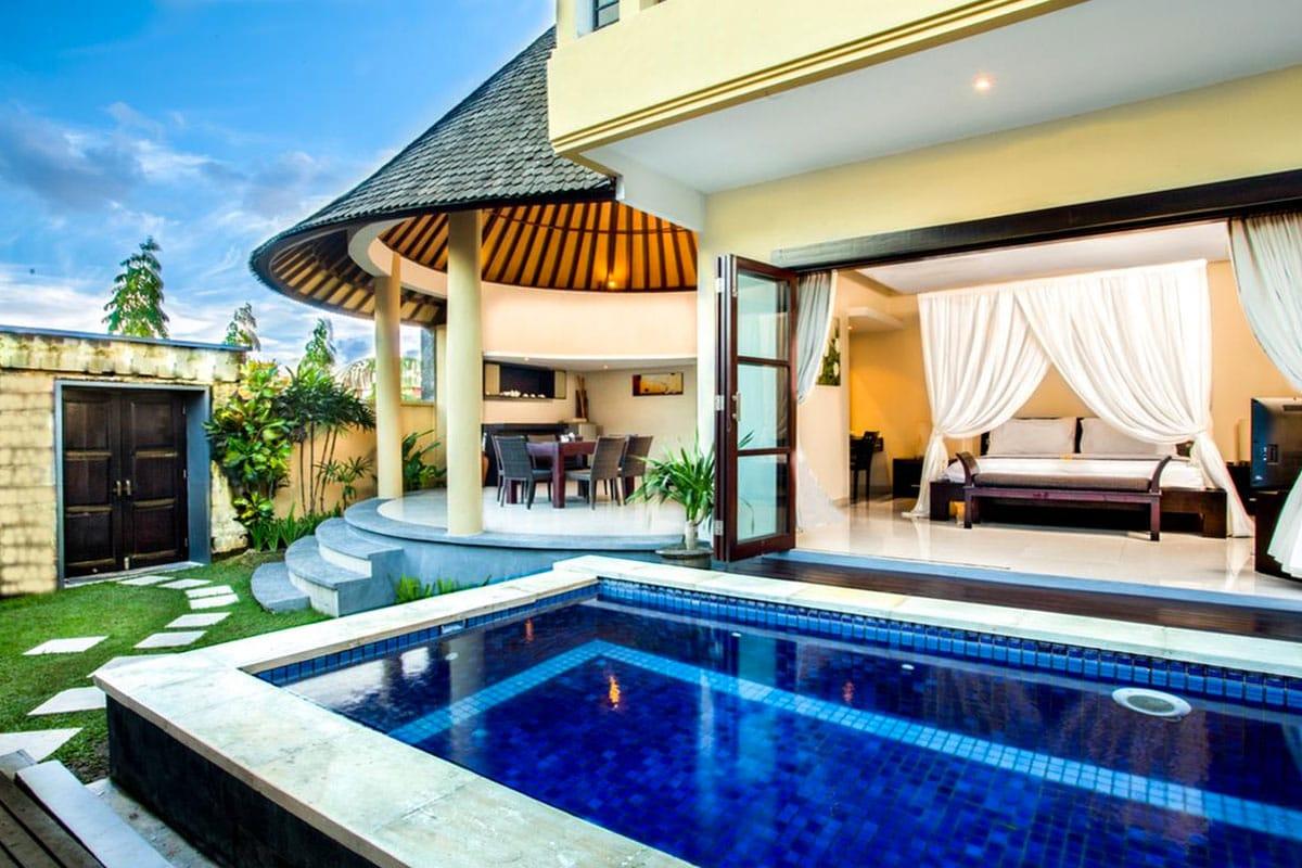 luxe pool villa canggu bali