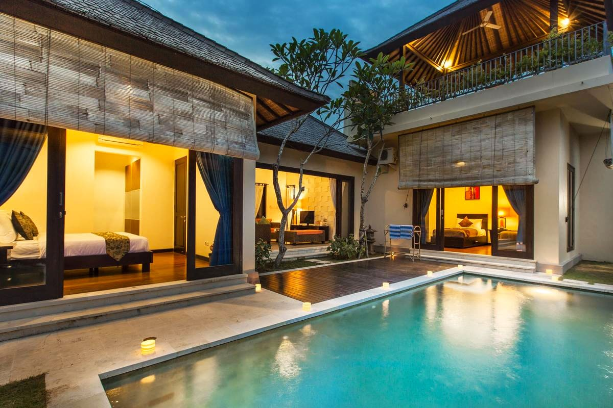 hotel met villa's bali