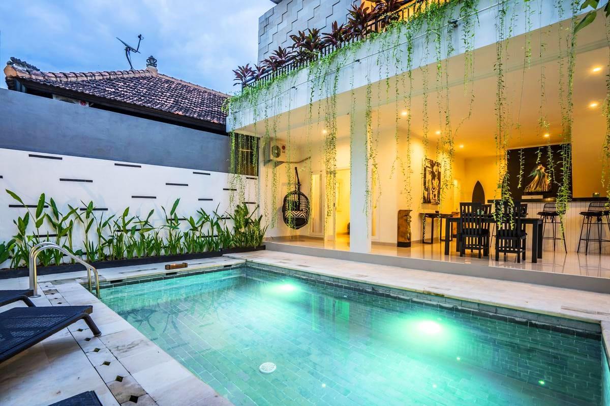 pool villa in canggu bali
