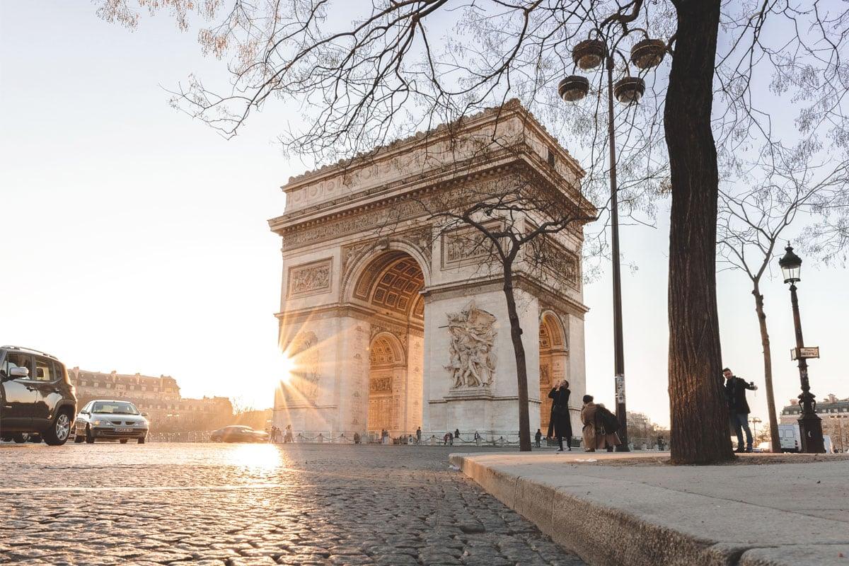bezienswaardigheden in parijs arc de triomph