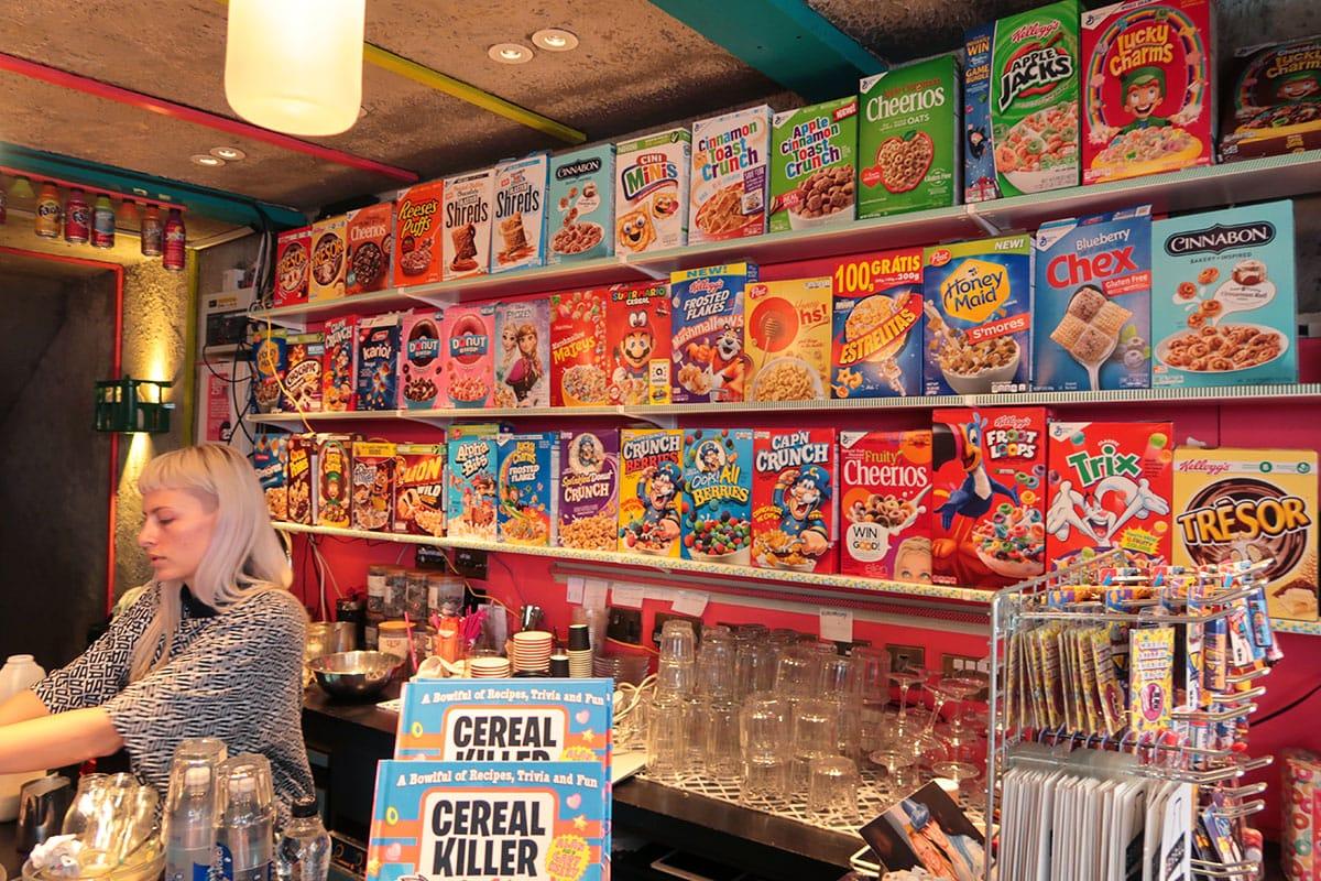 Cereal Killer Cafe Hotspot Shoreditch Londen