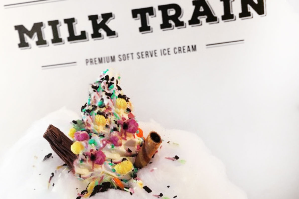 Milk Train Cafe Hotspots ijsjes Londen