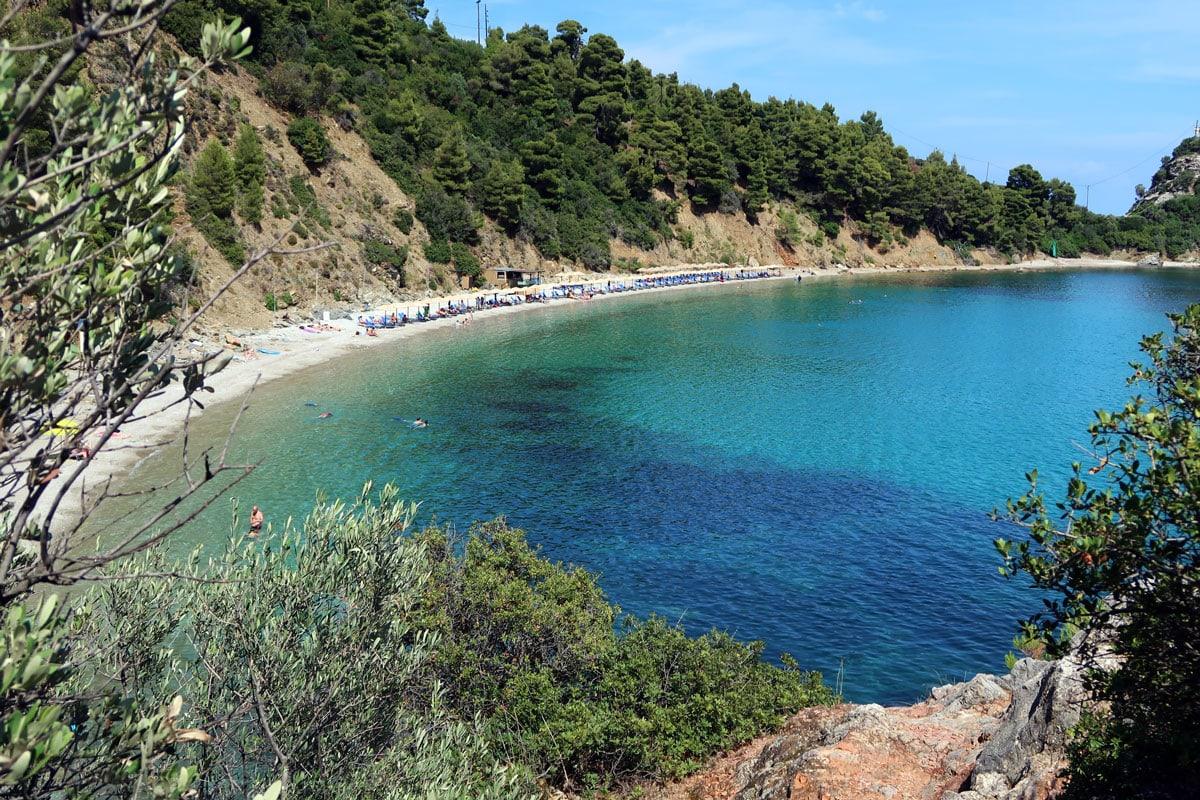 mooiste stranden skopelos stafilos beach