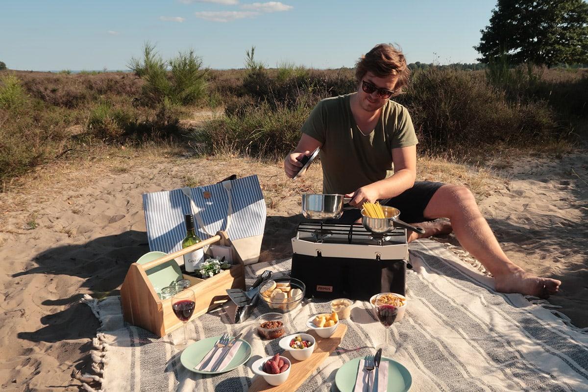 Buiten koken met het Onja Stove kooktoestel van Primus