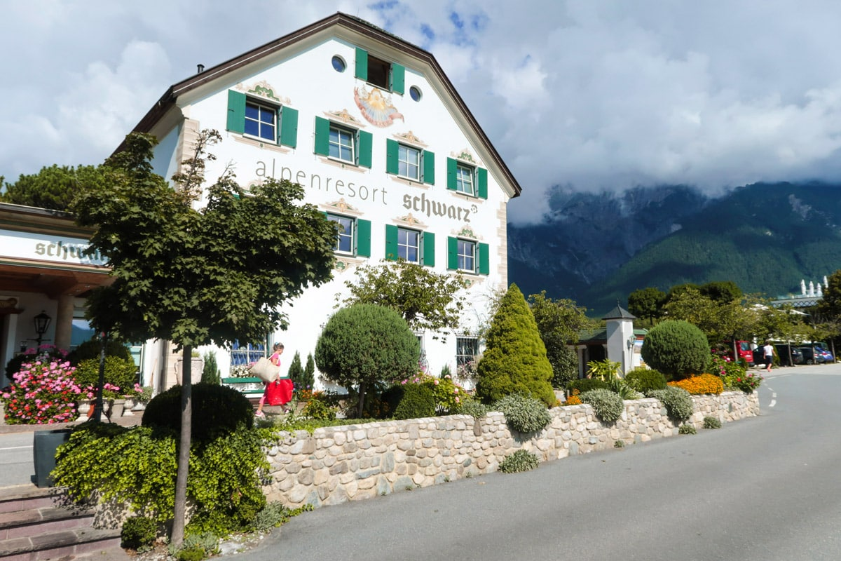 Alpenresort Schwarz in Mieming Tirol