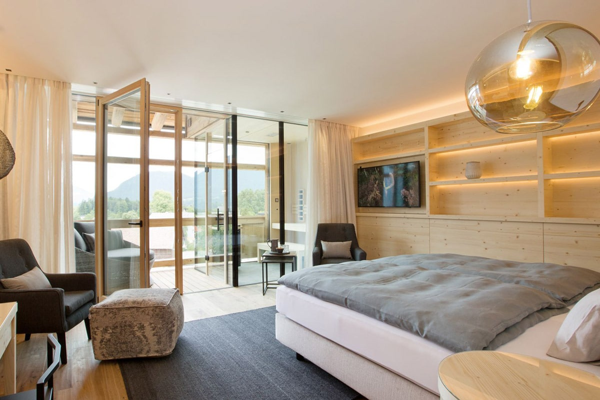 De Panorama Sky Double Room in hotel Schwarz