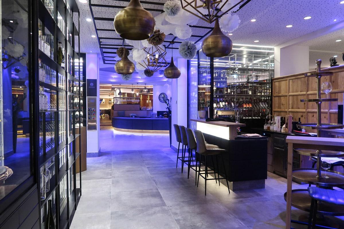 Modern restaurant in Oostenrijk