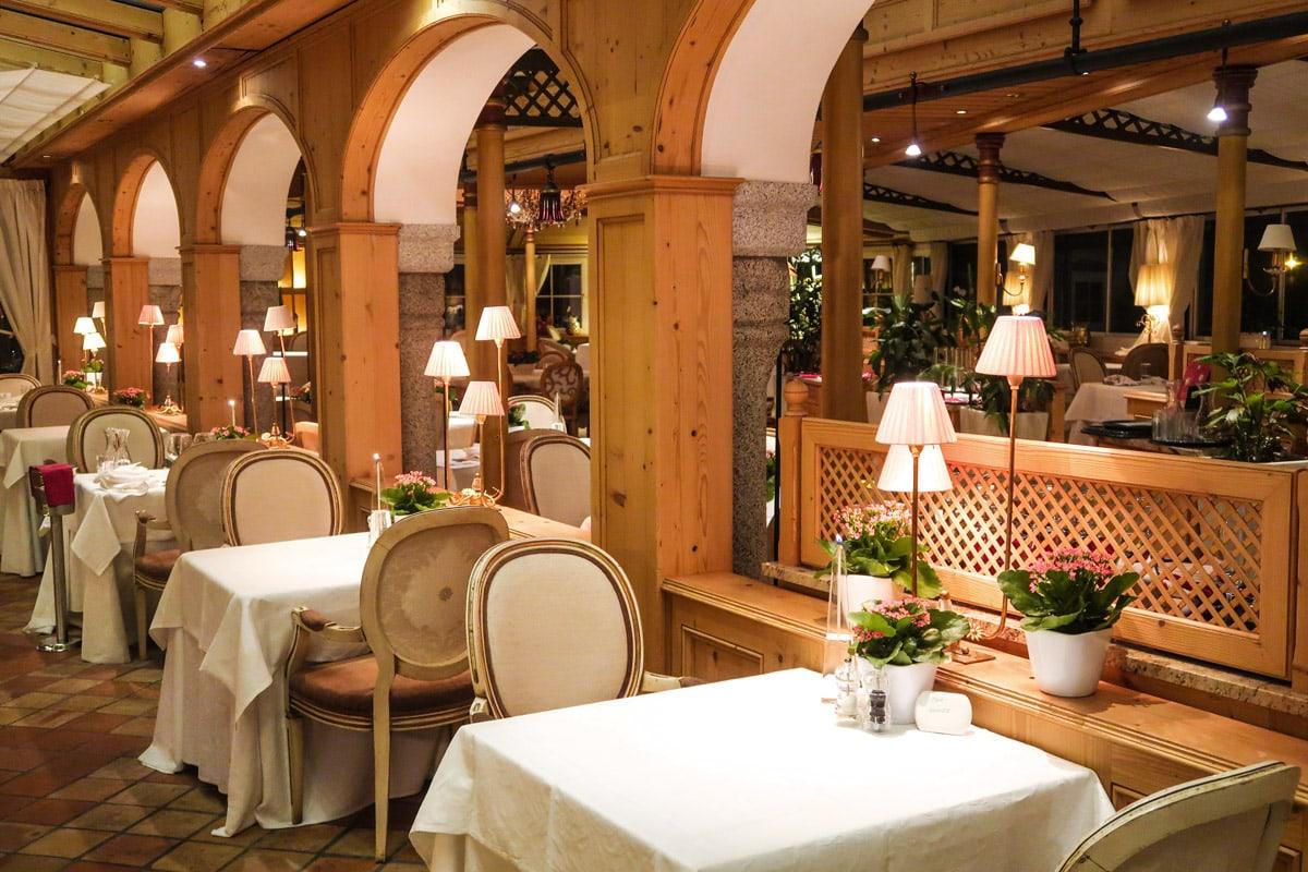Restaurants in Alpen resort Schwarz