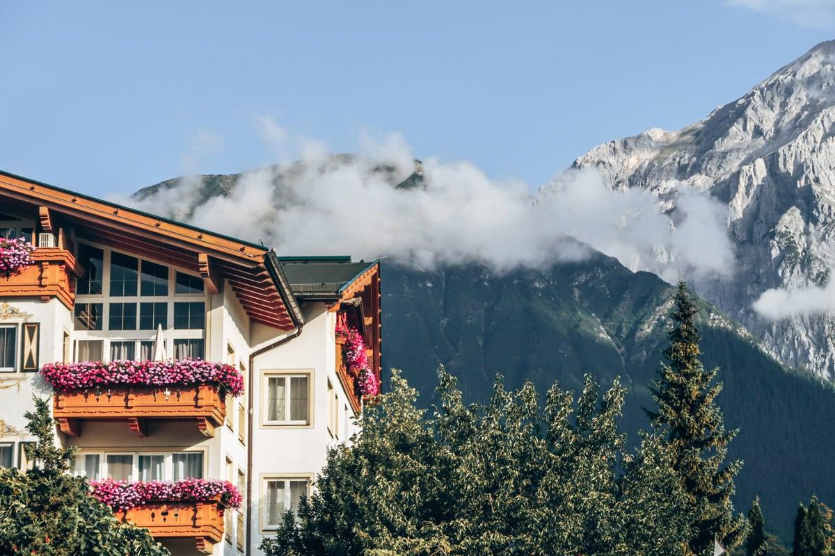 Wellness hotel in de alpen