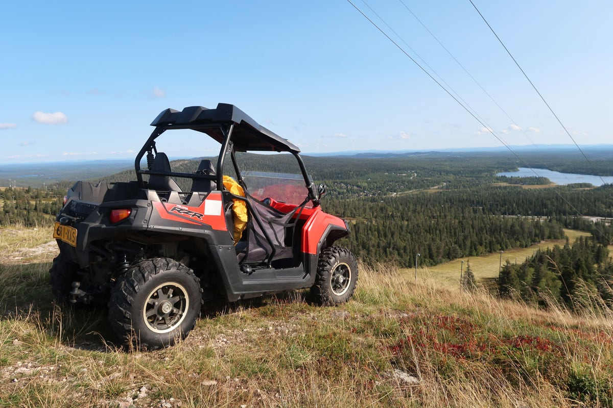 Buggy tour in Ruka Finland