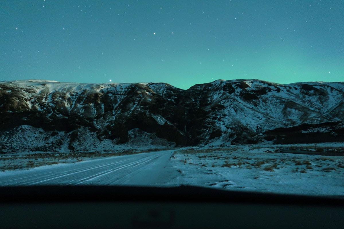 noorderlicht ijsland fotograferen