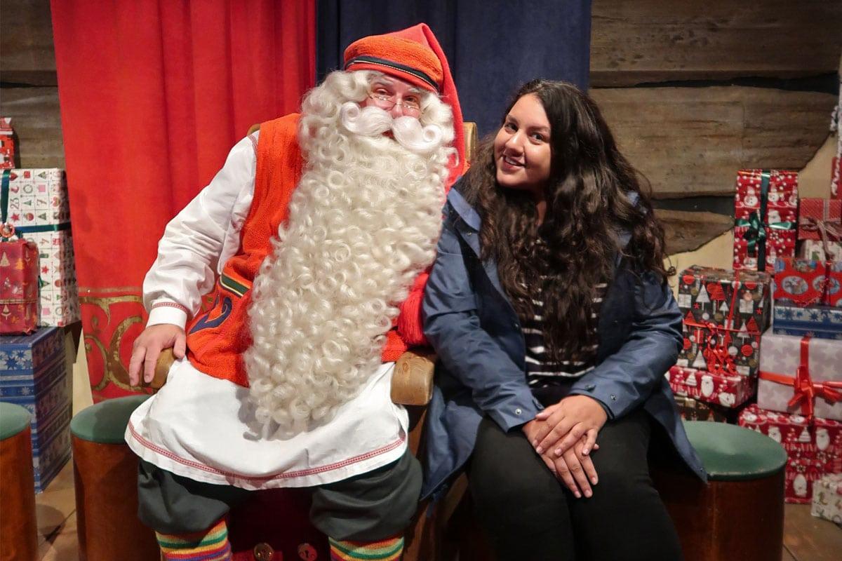 De echte kerstman in Finland