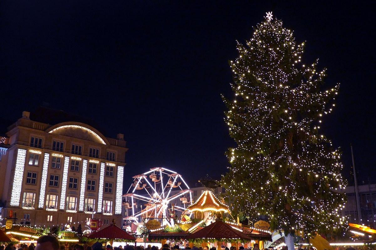 Kerstmarkt Dresden 2018