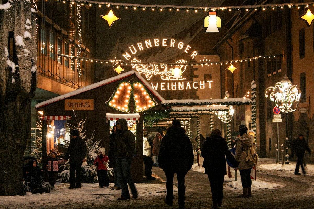 Kerstmarkt Neurenberg 2018