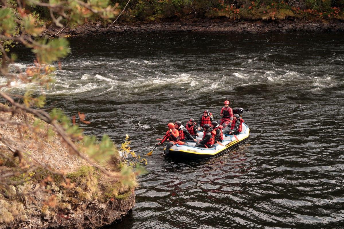 Wat te doen in Finland: Raften op de rivier