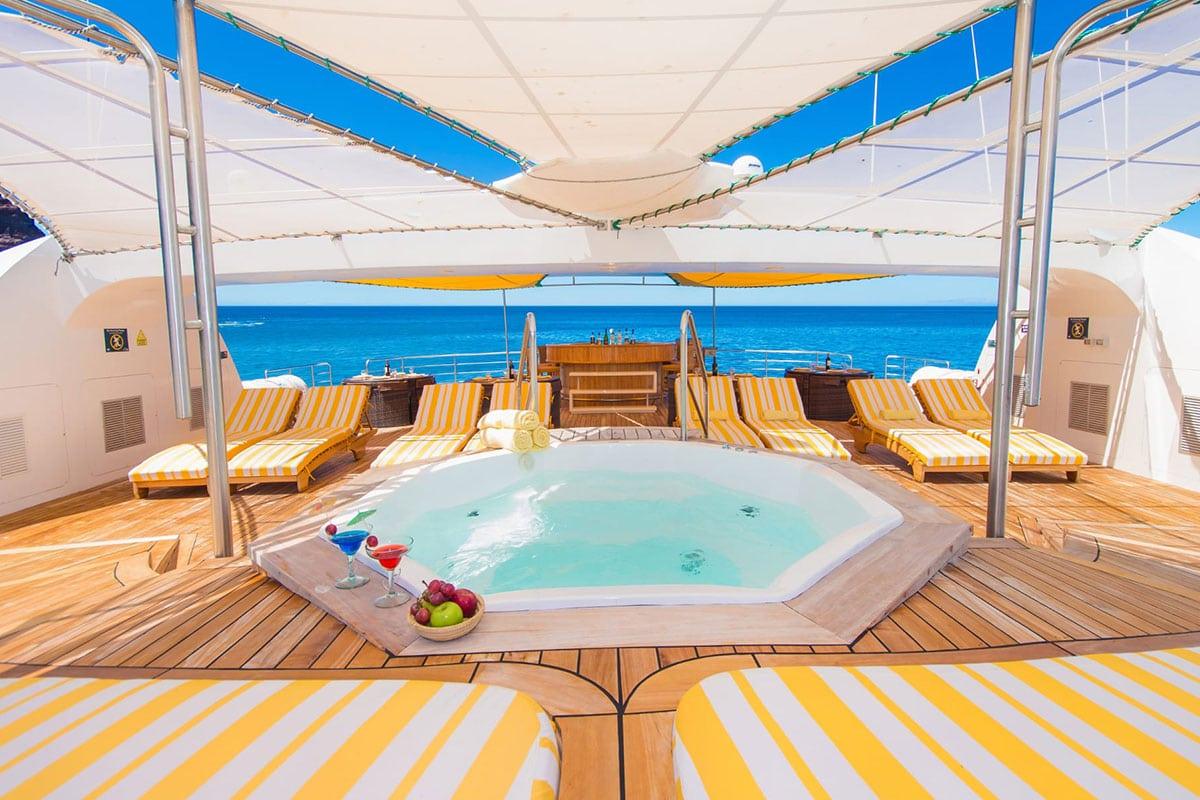 Cruise maken Galapagos eilanden