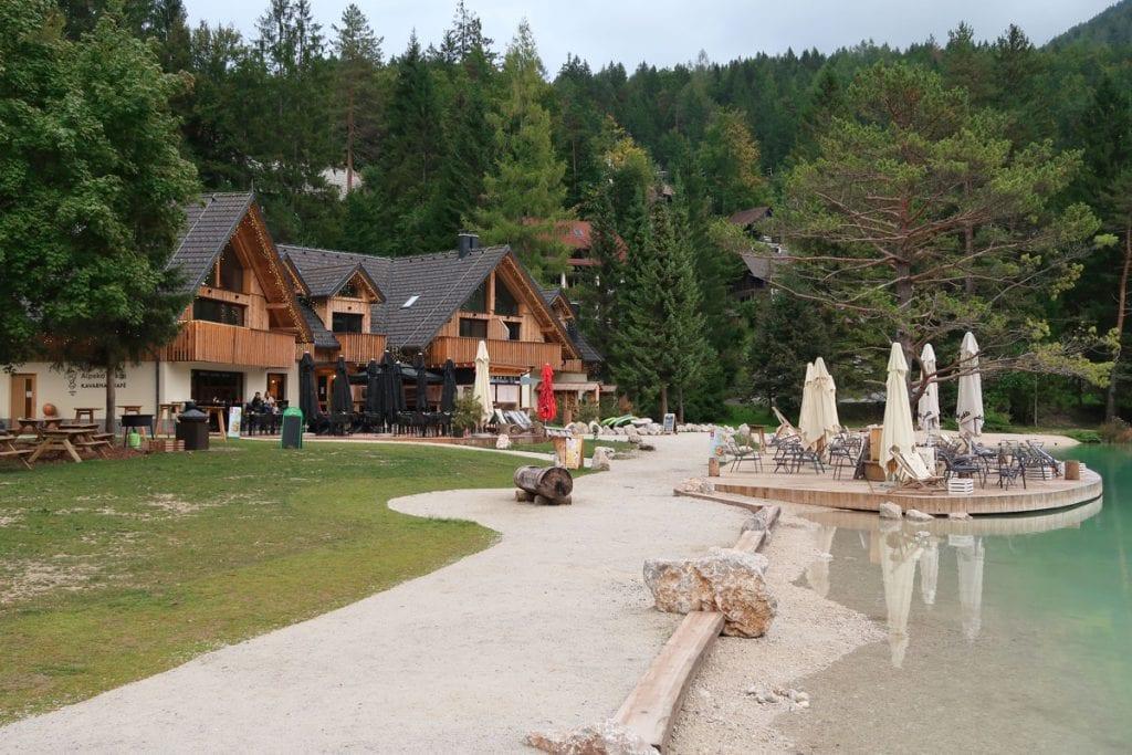 Lake Jasna Slovenië