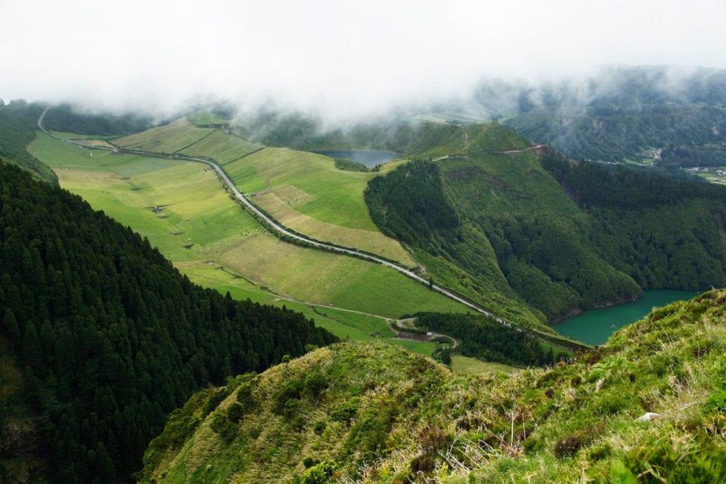 mooiste uitkijkpunt azoren