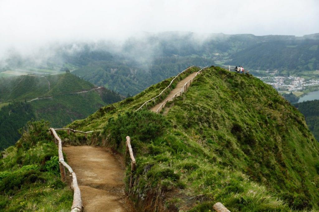 sete cidades azoren viewpoint