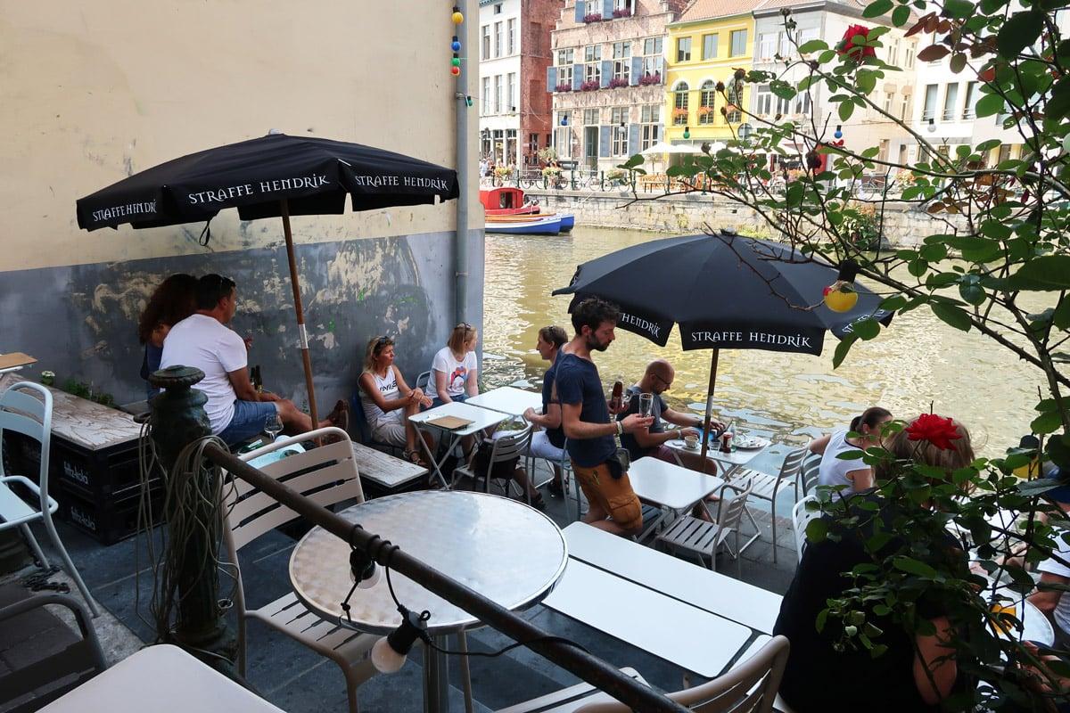 gent restaurants aan het water