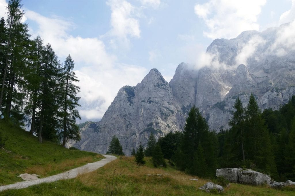 Julische Alpen bij Nationaal Park Triglav