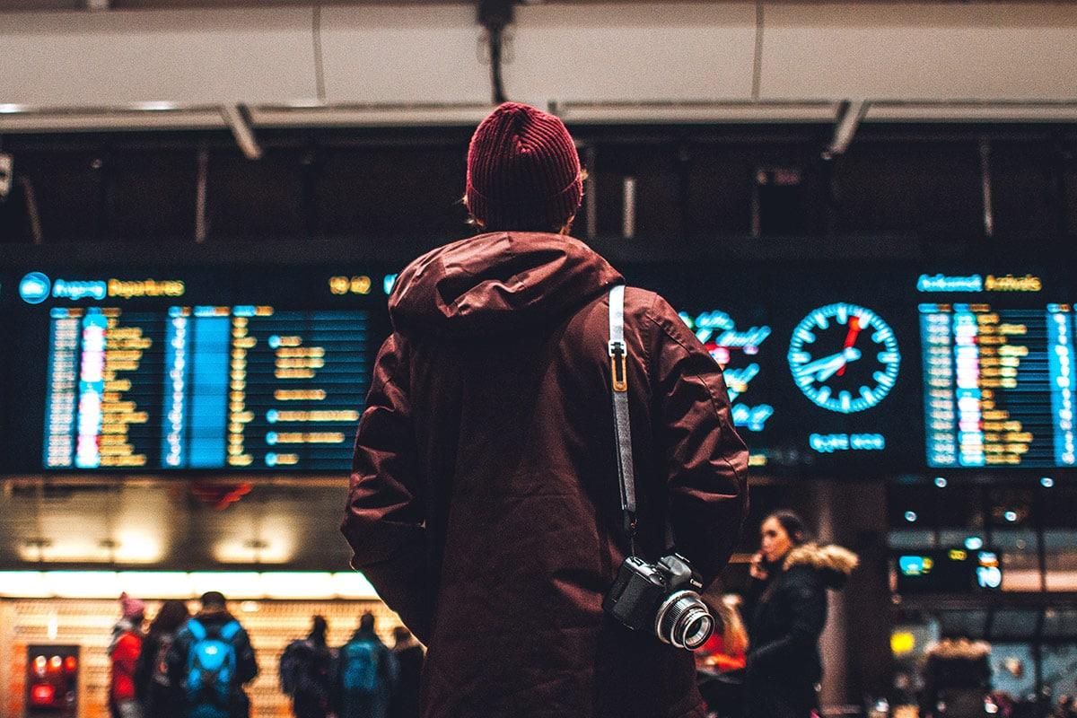 Vlucht vertraagd of geannuleerd