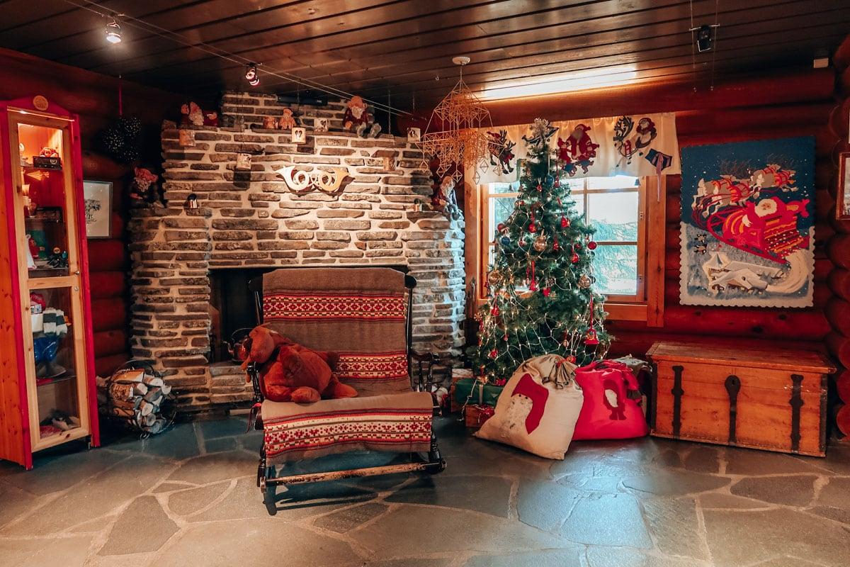 Dorp van Santa Claus in Finland
