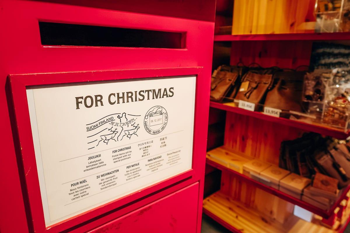 Kerstkaarten en brieven voor de kerstman