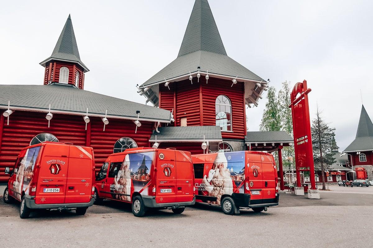 Overnachten in Santa Claus Village in Finland